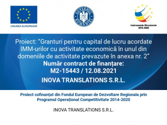 INOVA TRANSLATIONS S.R.L.