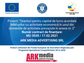 ARK MEDIA ADVERTISING SRL