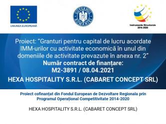 HEXA HOSPITALITY S.R.L. (CABARET CONCEPT SRL)